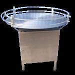 อุปกรณ์จานหมุนท้ายไลน์การผลิตแบบสายพาน