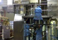 งานปรับปรุงถังผสม (modify& Improvement mixing machine)