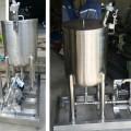 ชุด ปั่น กวน ถังผสม ติดตั้งมอเตอร์ลม (Mixing tank with air motor)